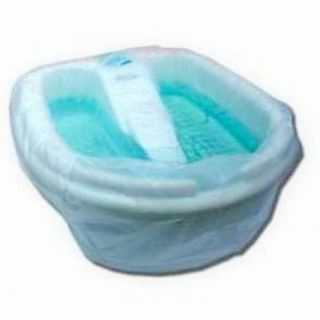 Pack for pedicure baths with double stitching, 50 x 70