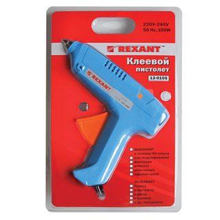 100 mm glue pistol, REXANT, in blister