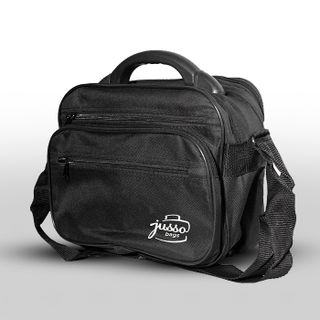 Men's bag - half case. Plastic handle