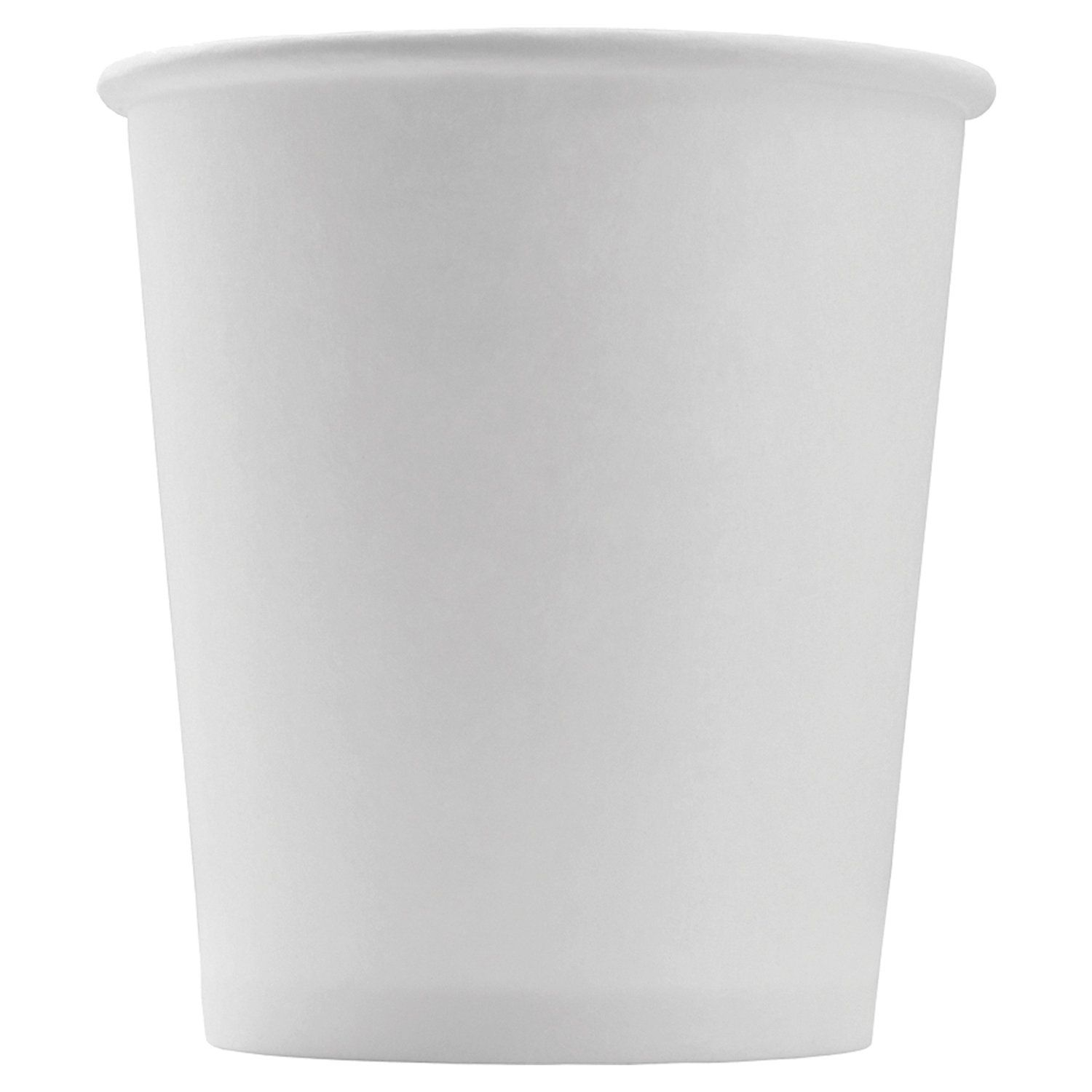 FORMATION / Disposable cups 100 ml, SET 60 pcs., Paper single-layer, white, cold / hot