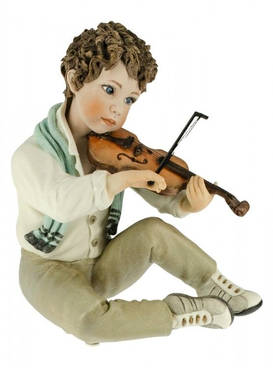 "Collectible porcelain figurine ""Tamino"", 18 cm"