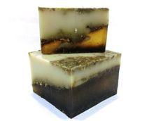 Handmade bar soap with herbs Calendula