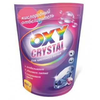 Oxygen bleach Oxy crystal for color linen 600 g.