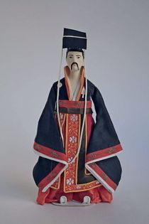 Doll gift. Imperial costume, 16th century, China