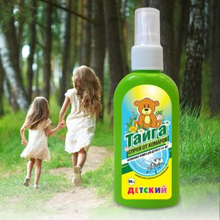 Taiga Baby repellent spray from mosquitoes 100 ml.