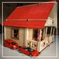 EcoHouseKids - designer toy house and dollhouse 2in1 - view 2