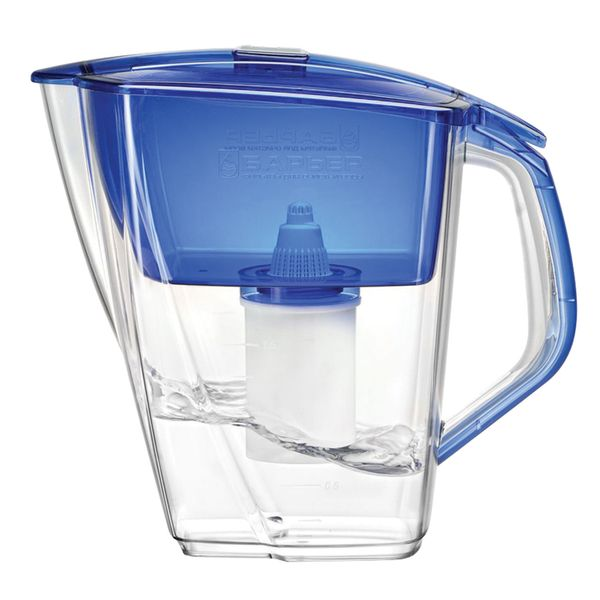 Water-cleaning jug 'Grand Neo' BARRIER, 4.2 liters, with interchangeable cassette, ultramarine