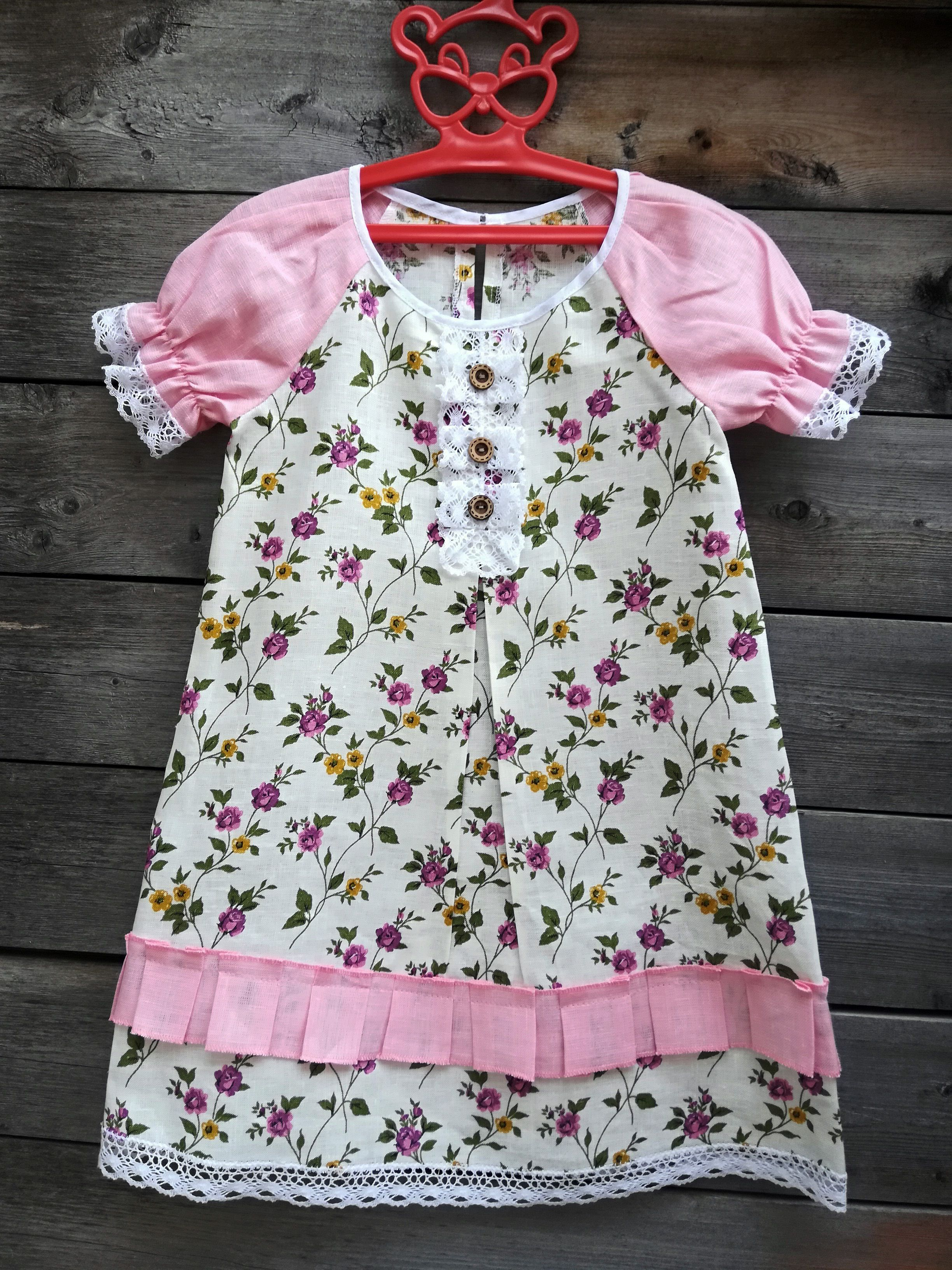 "Baby dress with sleeves ""flashlight"""