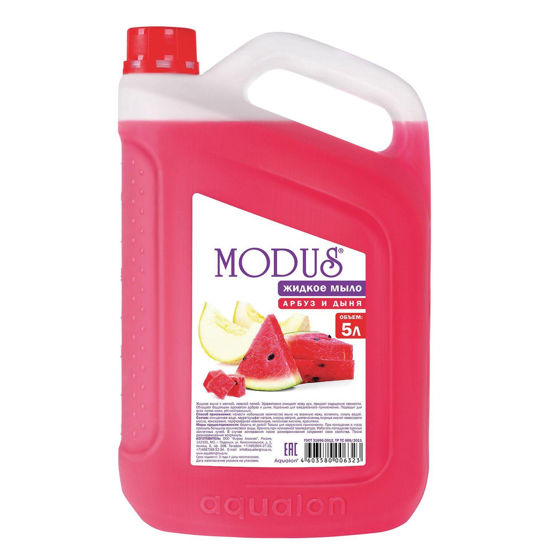 "Liquid soap 5 litre MODUS ""Watermelon and cantaloupe"""