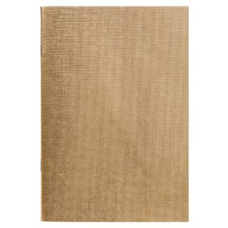 Bbuvinil notebook, A4, 96 sheets, staple, offset No.1, cage, GOLD Metallic, HATBER
