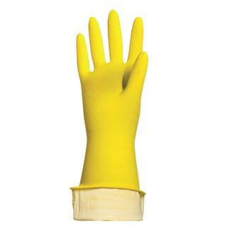 """LIMA / Latex household gloves """"Standard"""", REUSABLE, cotton dusting, size L (large)"""