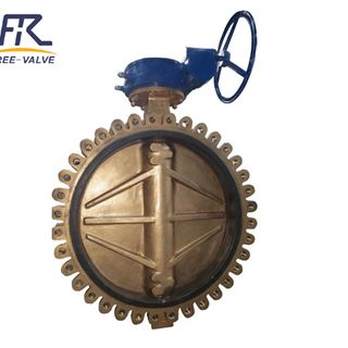 Bronze Lug Butterfly Valve with Double Eccentric Offset