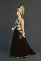 Doll gift. Court dress early 14th century. France. - view 1