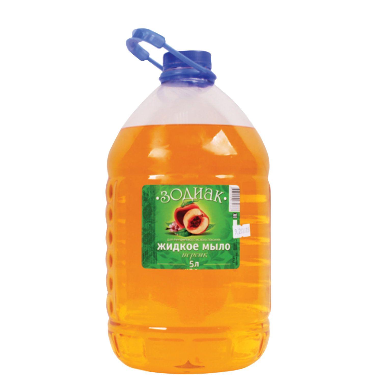 Liquid soap 5 litres, ZODIAC Persik, PAT