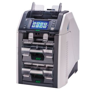 GRGBanking СM200V banknote counter-sorter, 1100 banknotes / min., IR-, UV- magnetic detection, 3 trays