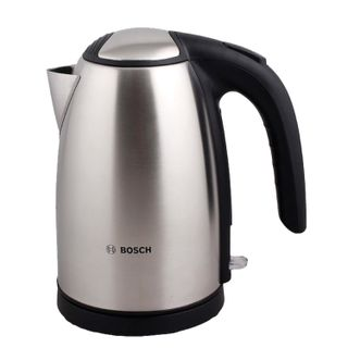 KETTLE BOSCH TWK7801, 1.7 litres, 2200 w, closed heating element, stainless steel, silver