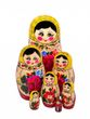 Matryoshka traditional 7 doll - view 2