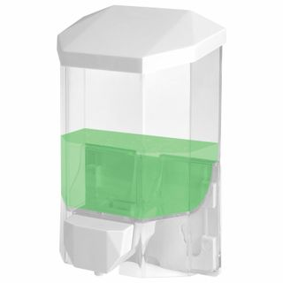 Dispenser for liquid soap LAIMA PROFESSIONAL ORIGINAL LIQUID, 0.5 l, clear, plastic