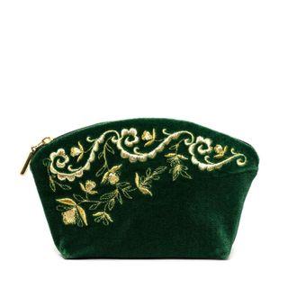 """Velvet cosmetic bag """"Nefertiti"""""""