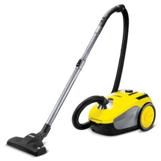 Vacuum cleaner KARCHER (KARCHER) VC2, with dust bag power consumption: 700 W, yellow
