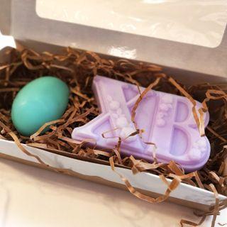 Easter handmade soap set