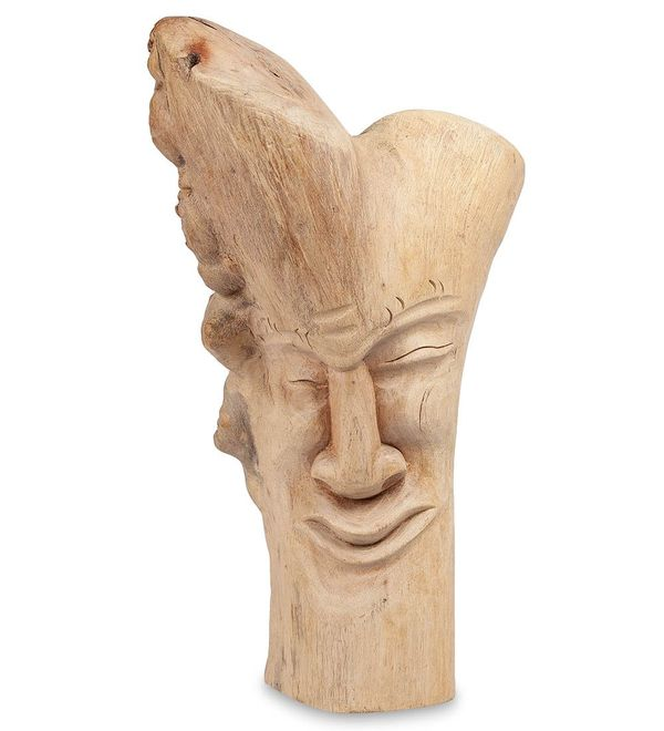 "Decor and Gift / Wooden figurine ""Abstraction. Emotions"" 40 cm"