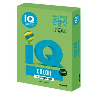 Paper I's color, A4, 80 g/m2, 500 sheets, intensive, green lime