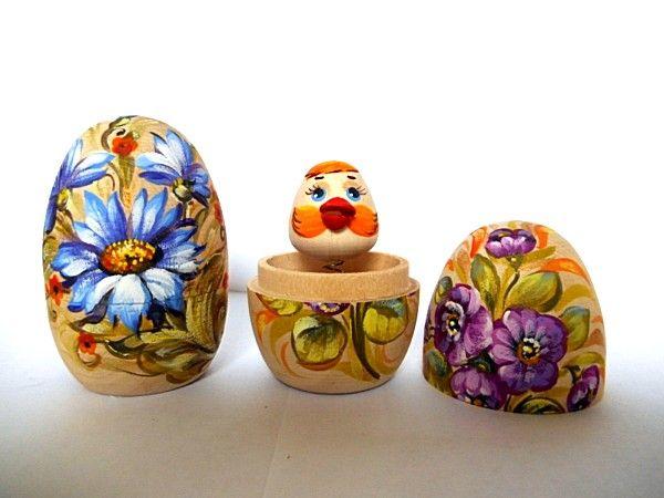 """Tver souvenirs / Box """"Egg - Surprise"""", 2 pcs."""