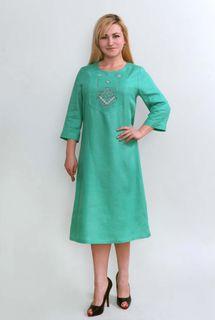 Dress womens linen 9-280