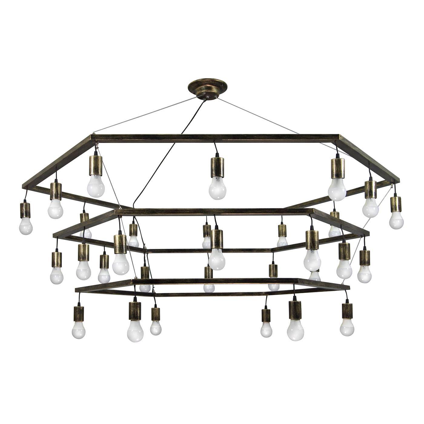 PETRASVET / Pendant chandelier S3122-30, 30xE27 max. 60W