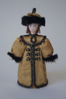 Doll gift porcelain. Rus. The costume of the Prince (styling).