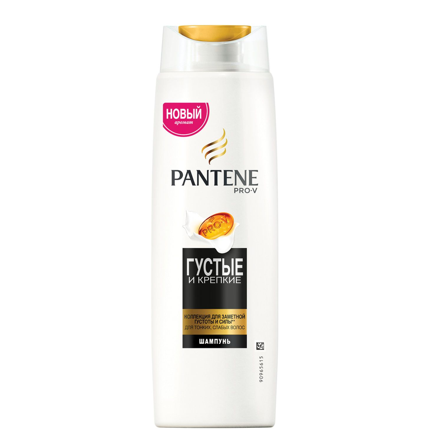 "Shampoo 400 ml, PANTENE ""Thick and strong"", for fine and weak hair"