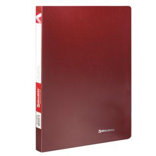 Folder, plastic file folder BRAUBERG