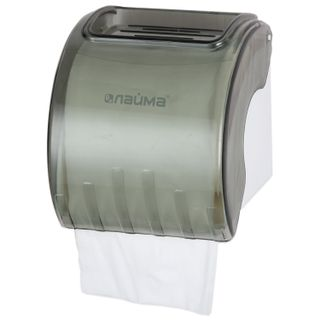 LIMA / Toilet roll dispenser in standard rolls, gray tinted