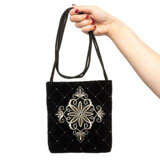 """Velvet bag """"Countess"""""""