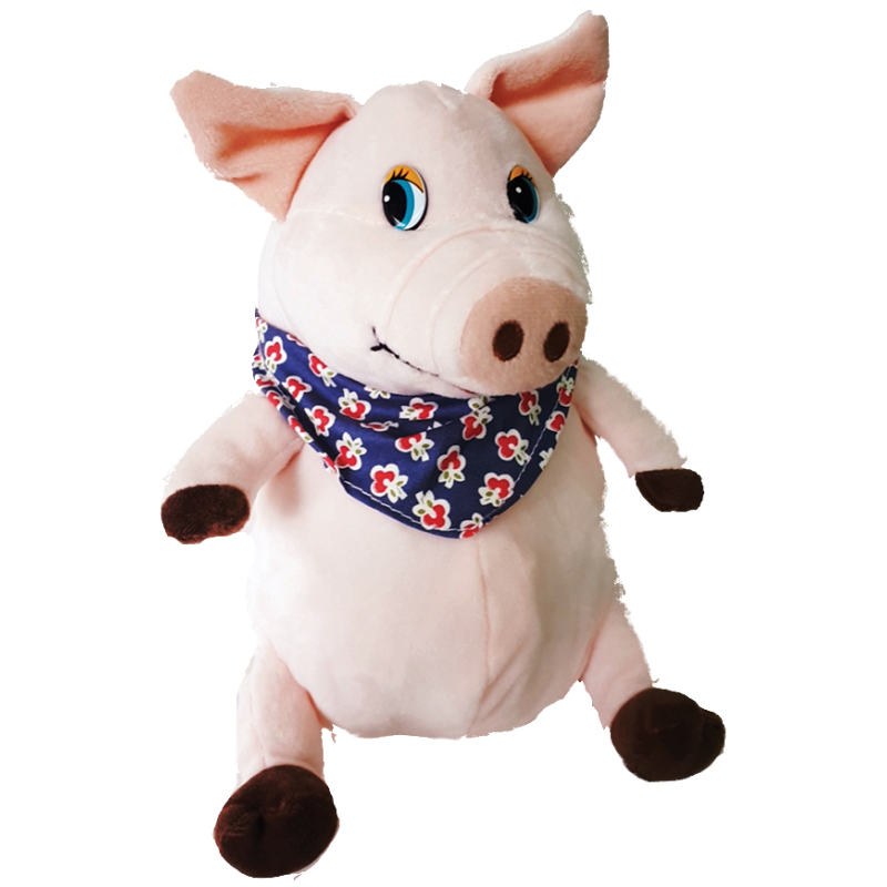 "New Year's gift Pig ""Boris"" + a set of chocolates 750g."