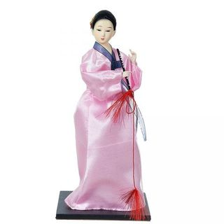 """Porcelain figurine """"Chinese girl in national costume"""""""