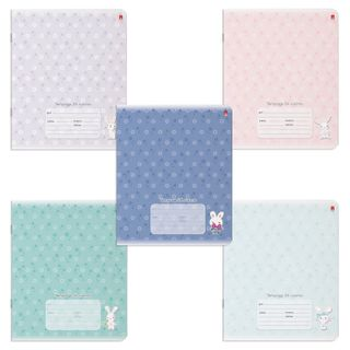 """Notebook 24 sheets ALT cage, convex, """"Marshmallow Hares"""" (5 types)"""