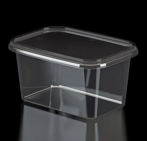 Rectangular container for sealing 400 g - KNS3-400