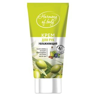 Hand cream 75 ml, HARMONY OF BODY moisturizing