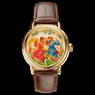 """Palekh watch """"Swings №25"""