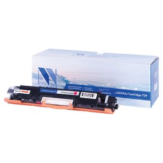 Magenta Toner Cartridge NV PRINT (NV-CE313A / 729M) for HP M175nw / CP1025nw / CANON LBP7010C, yield 1000 pages