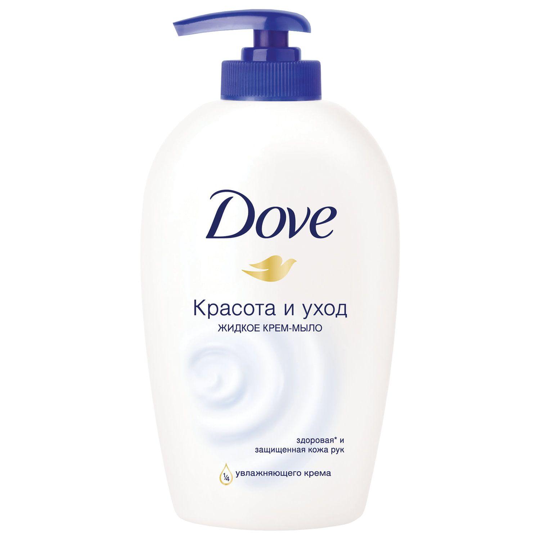 """Soap-cream, liquid, 250 ml, DOVE """"Beauty and care"""", dispenser"""