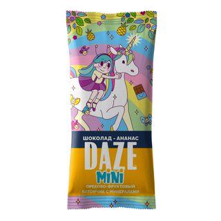 DAZE CHOCOLATE-PINEAPPLE nut - fruit bars