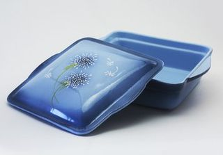 Square small container for baking