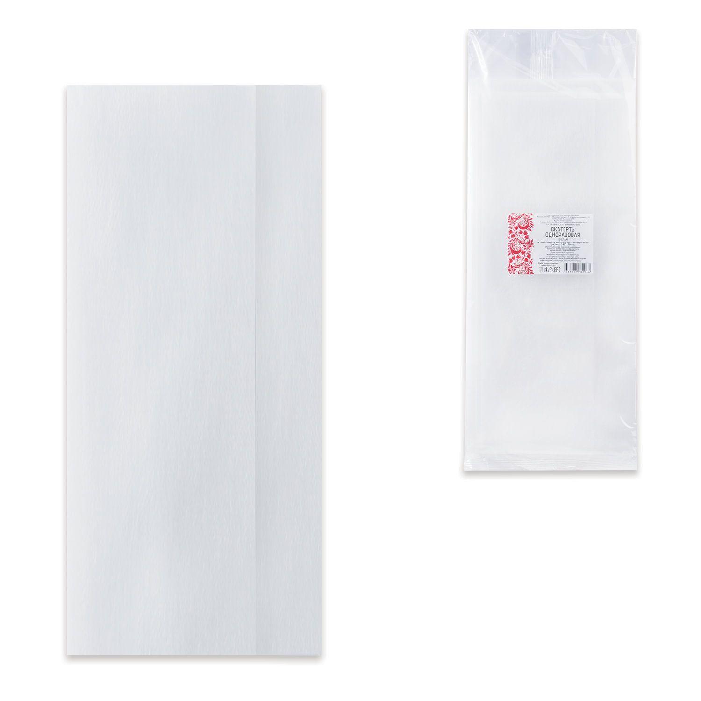 INTROPLASTICA / Disposable tablecloth, spunbond, 140x110 cm, white