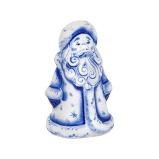Sculpture Santa Claus little 2nd grade, Gzhel Porcelain factory