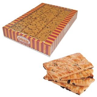 OZBI FAMILY / Biscuits with raisins, 1.8 kg, by weight, corrugated box