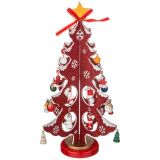 """Decor wooden """"Tree red toys"""""""