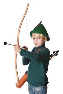"""Set: Bow and Arrow """"YaiGrushka"""""""